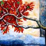Balinese boom rood