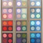Kamerscherm met 12 vlakken, kleuren van de regenboog