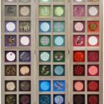 Kamerscherm met 48 vlakjes, kleuren van de regenboog